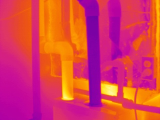 Infrared Scanning Service Exhaust Flue